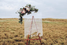 Load image into Gallery viewer, Clear Wedding Welcome Sign