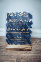 Load image into Gallery viewer, Wedding Bar Menu Sign Signature Drinks