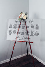Load image into Gallery viewer, Frosted Acrylic Please Find Your Table Sign