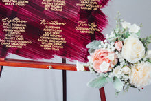 Load image into Gallery viewer, Be Our Guest Wedding Seating Chart