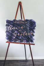 Load image into Gallery viewer, Calligraphy Acrylic Sign Welcome