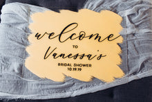 Load image into Gallery viewer, Bridal Shower Acrylic Sign