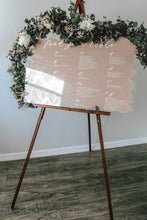 Load image into Gallery viewer, Seating Chart Sign
