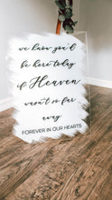Load image into Gallery viewer, Wedding Memorial Sign