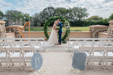 Load image into Gallery viewer, We're So Happy You're Here Sign Wedding
