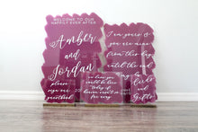 Load image into Gallery viewer, Acrylic Wedding Sign Bundle