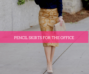 Fabhesive| Pencil Skirts for the Office | Style at Work