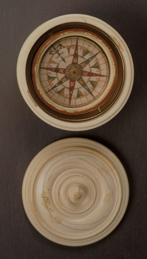 Detail of Mariner's compass, 16th century by unknown