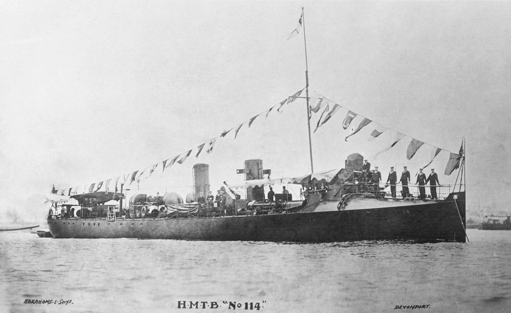 Detail of Torpedo boat 'TB 114' by unknown
