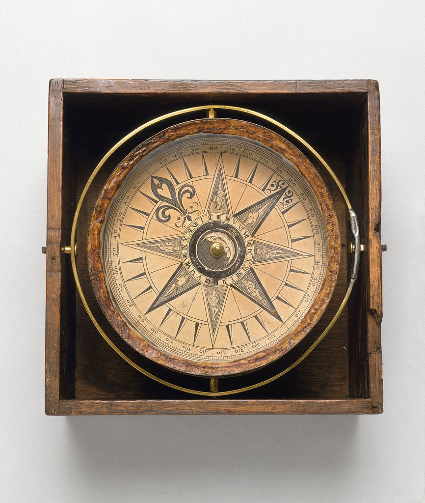Detail of Mariner's compass by Jonathan Eade