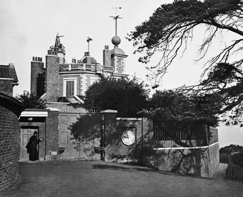 Detail of Entrance of the Royal Observatory, Greenwich by unknown