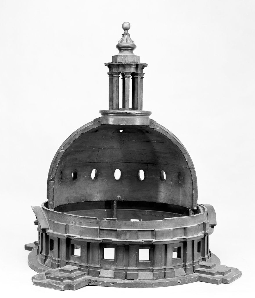 Detail of Model for the domes of Greenwich Hospital by James Smallwell