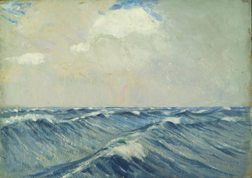 Detail of Seascape from the 'Umberleigh' by John Everett