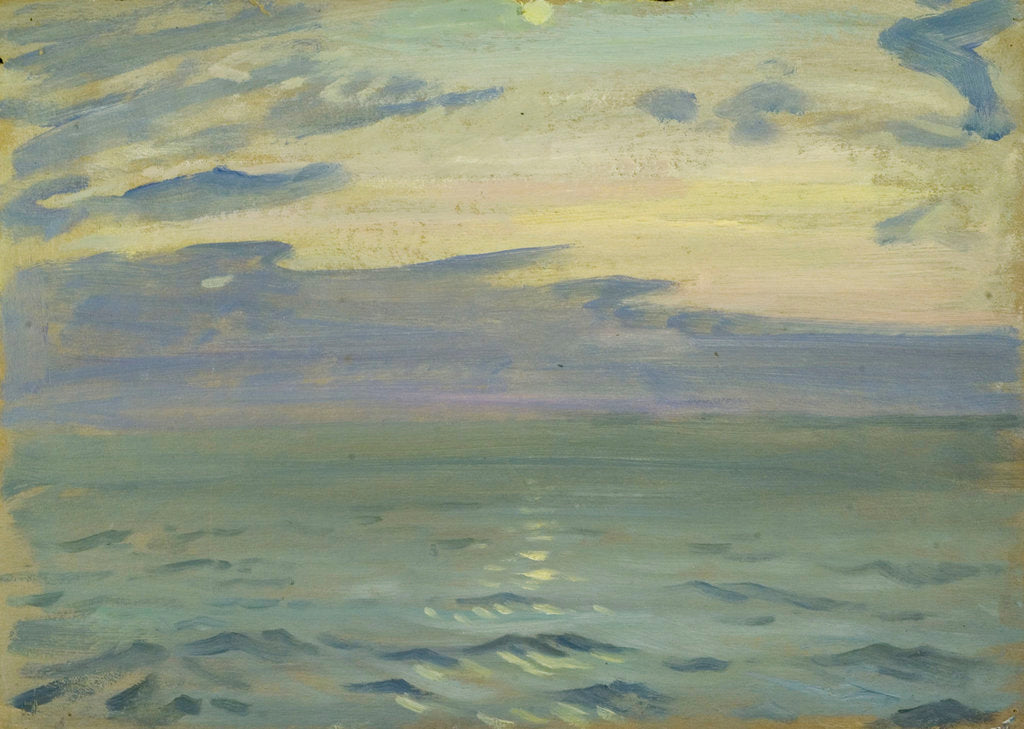 Detail of Seascape from the 'Suzanne' by John Everett