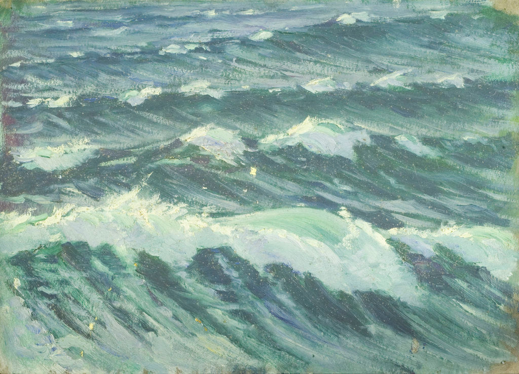 Detail of Sennen Cove, Cornwall by John Everett