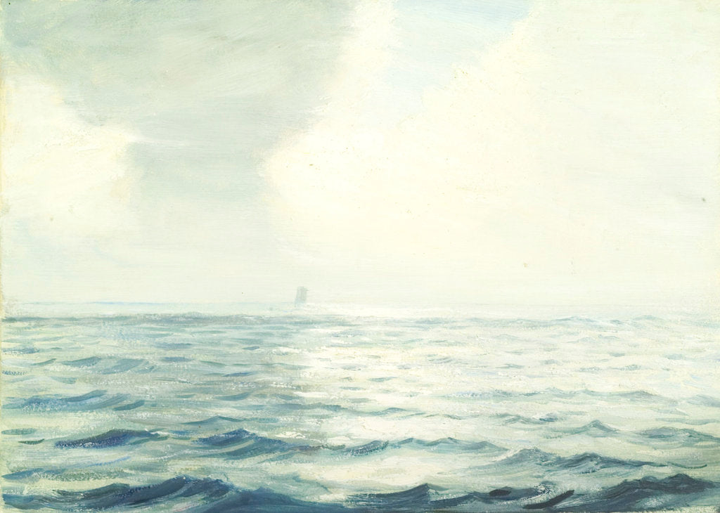 Detail of Bay of Biscay from the 'Ravenspoint' by John Everett