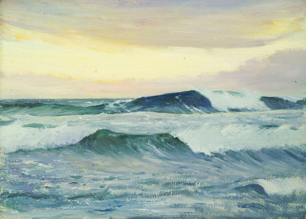 Detail of Seascape, Jersey by John Everett