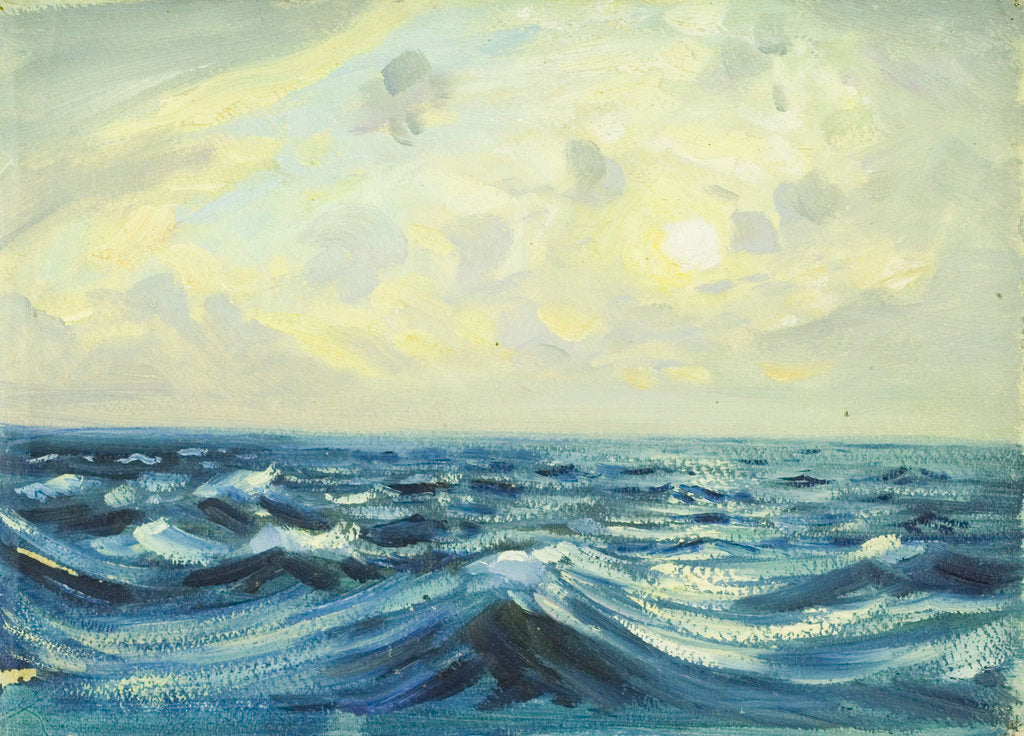 Detail of Seascape from the 'Allsund' by John Everett