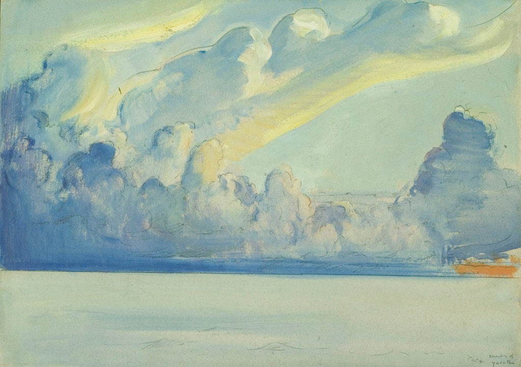 Detail of Yucatan Straits, Gulf of Mexico from the 'Birkdale' by John Everett