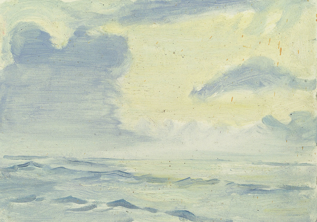 Detail of Bay of Biscay from the 'Umberleigh' by John Everett