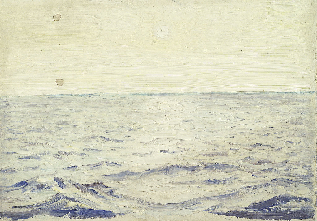 Detail of Seascape from the 'Castilian' by John Everett