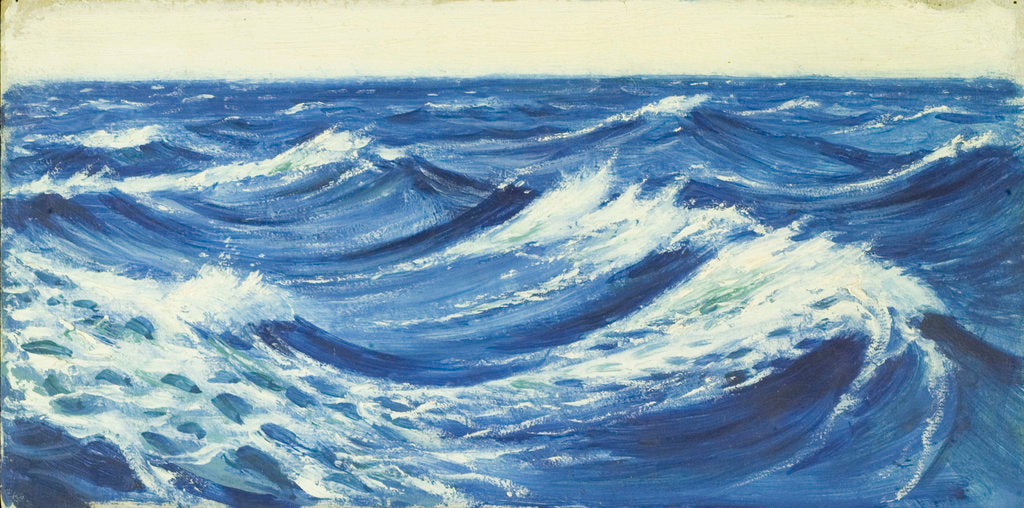 Detail of Seascape by John Everett