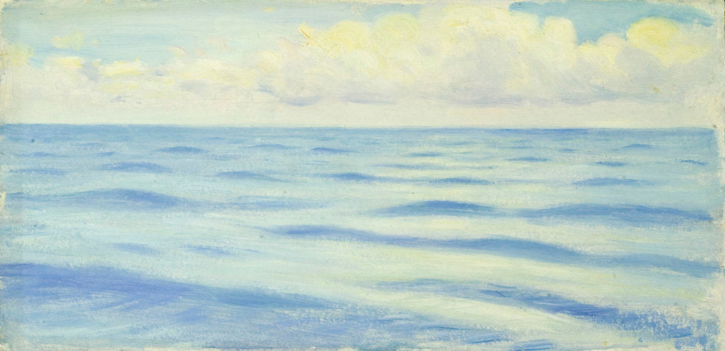 Detail of Seascape from the 'Penaglis M. Hadoulis' by John Everett