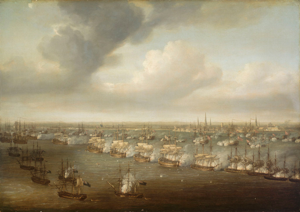 The Battle of Copenhagen, 2 April 1801 by Nicholas Pocock
