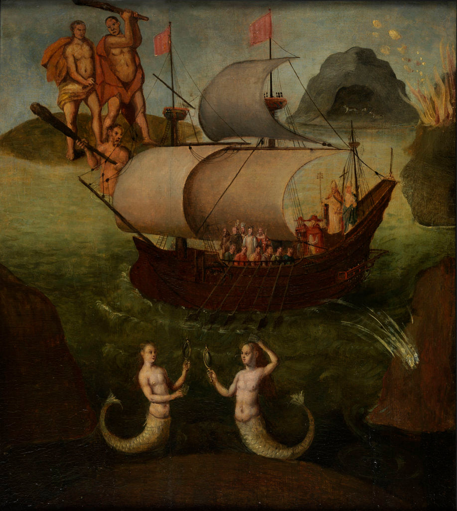 Detail of Allegory: the ship of state by Frans Franken the Elder