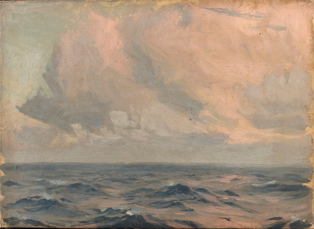 Detail of The sea by John Fraser