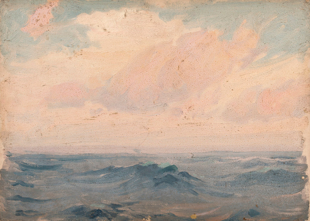 Detail of Seascape by John Fraser