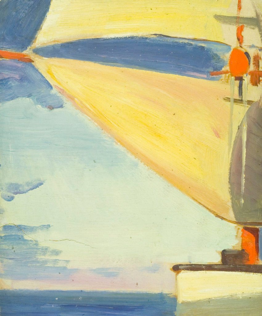 Detail of A sun tug by John Everett