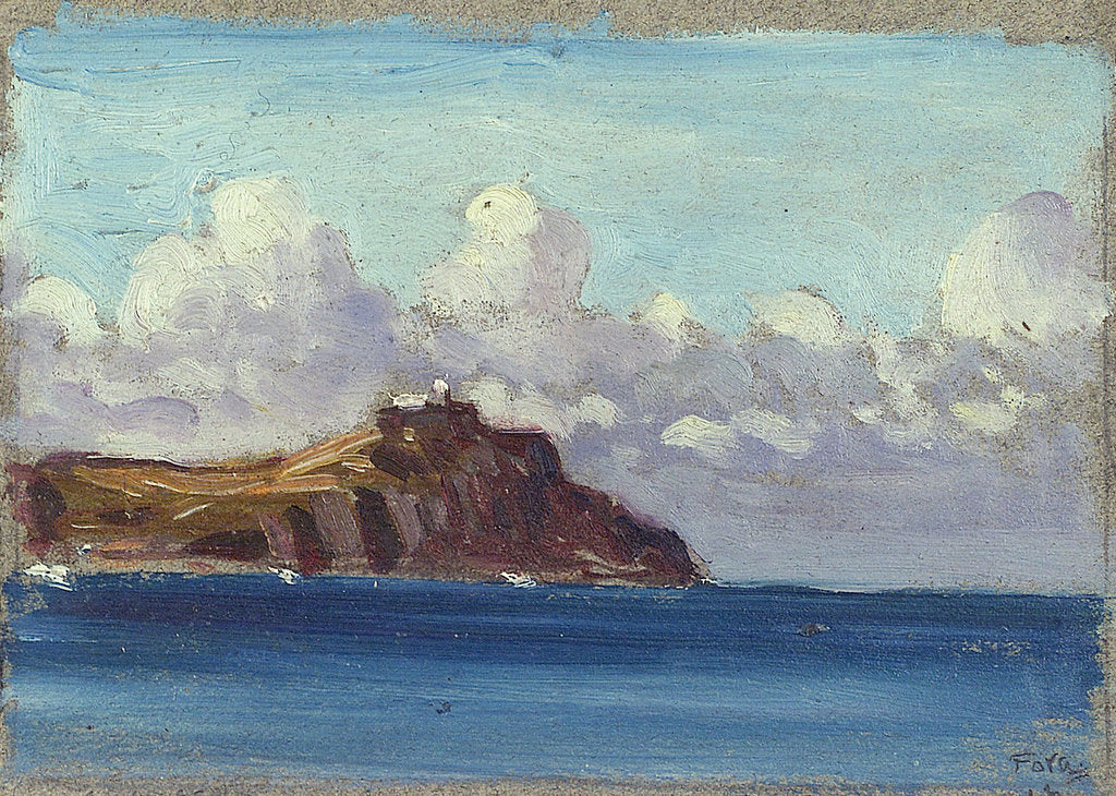 Detail of A coastal view by John Everett