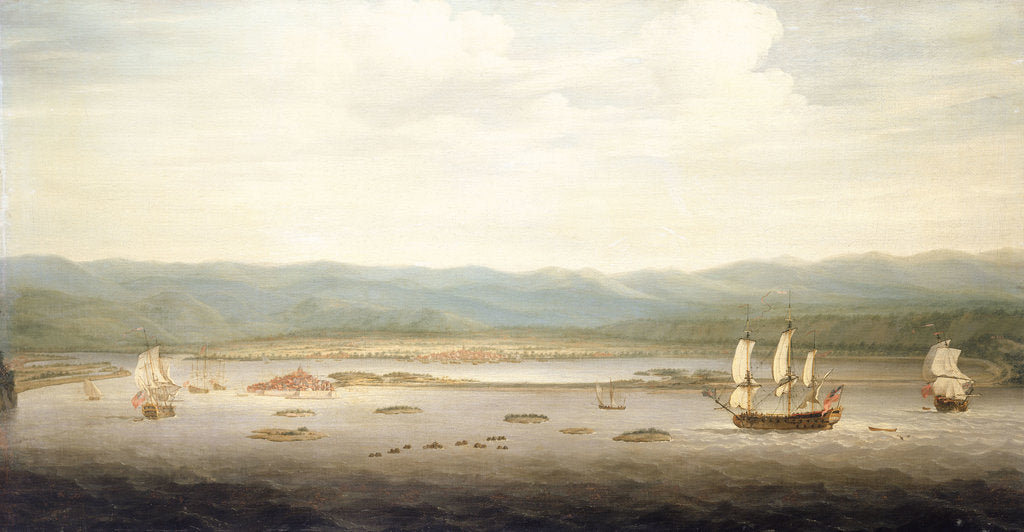 Detail of View of Port Royal, Jamaica by Richard Paton