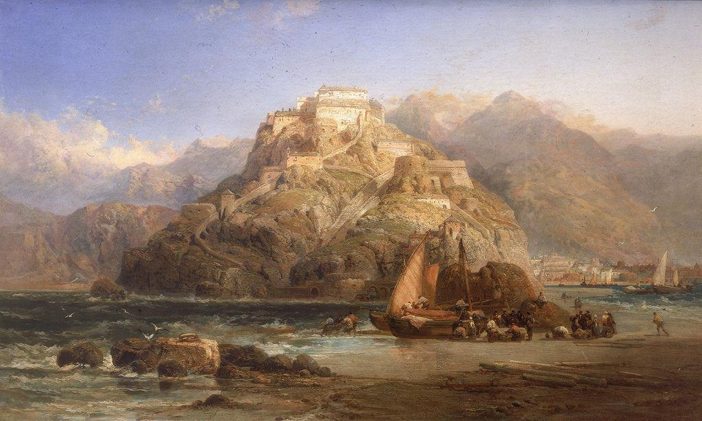 Detail of View of San Sebastian by James Webb