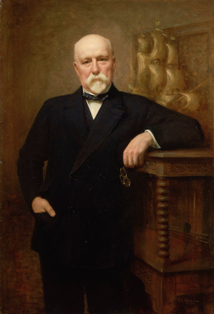 Sir Walter Runciman (1847-1937) by Reginald Henry Campbell
