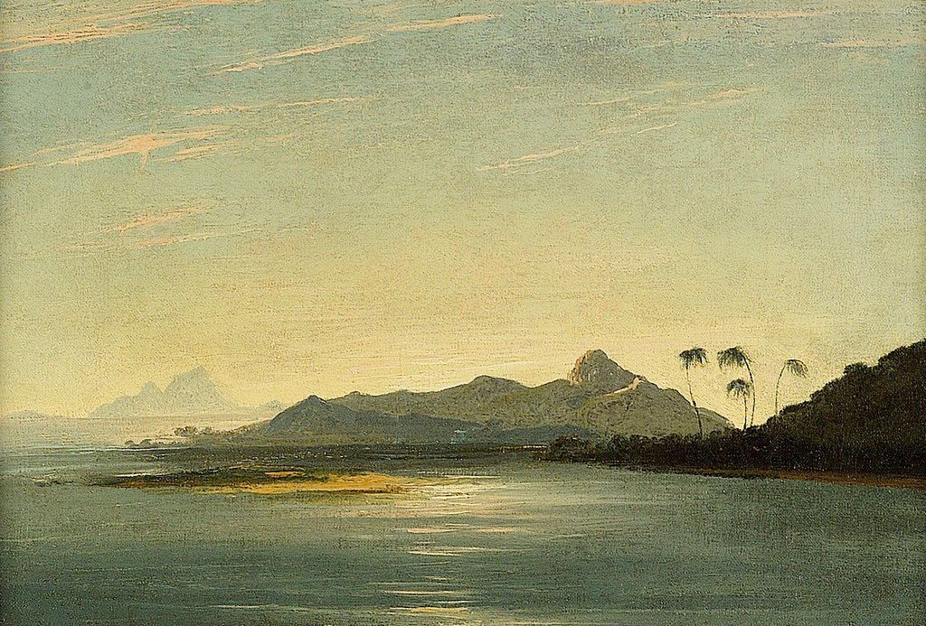 Detail of View of the island of Otaha and Bola Bola with part of the island of Ulietea by William Hodges