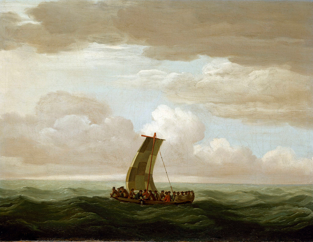 Escape from the Luxborough galley by John Cleveley