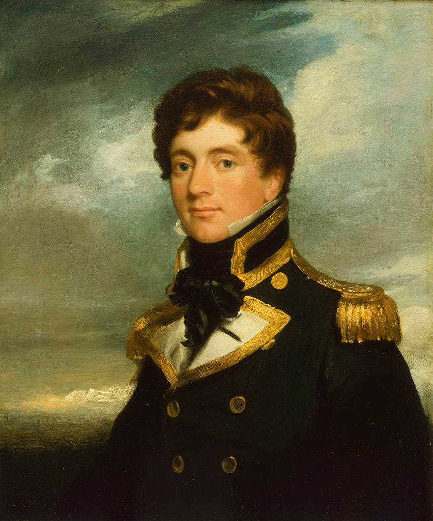 Detail of Captain Frederick William Beechey (1796-1856) by George Duncan Beechey