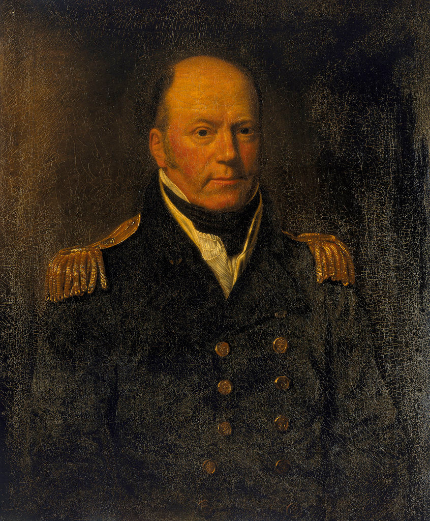 Detail of Captain William Broughton (1762-1821) by unknown