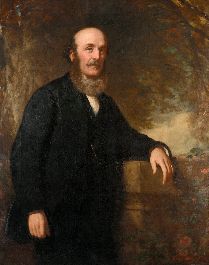 Detail of Peter Denny (1821-1895) by Daniel Macnee