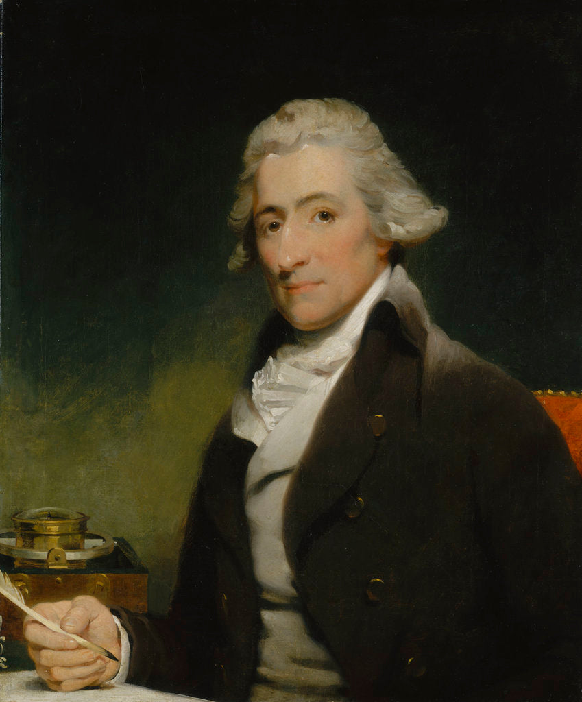 Detail of Thomas Earnshaw (1749-1829) by Martin Archer Shee