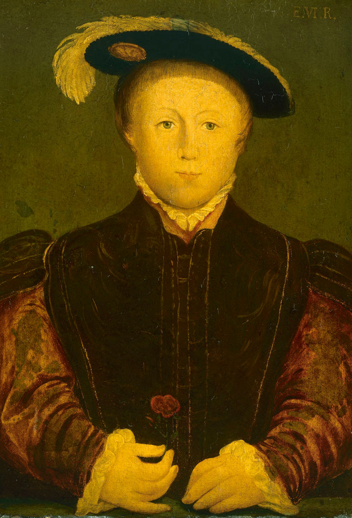 Detail of Edward VI (1537-1553) by Hans Holbein