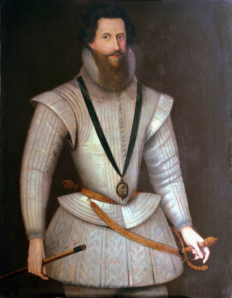 Detail of Robert Devereux, 2nd Earl of Essex (1567-1601) by Marcus Gheeraerts the Younger