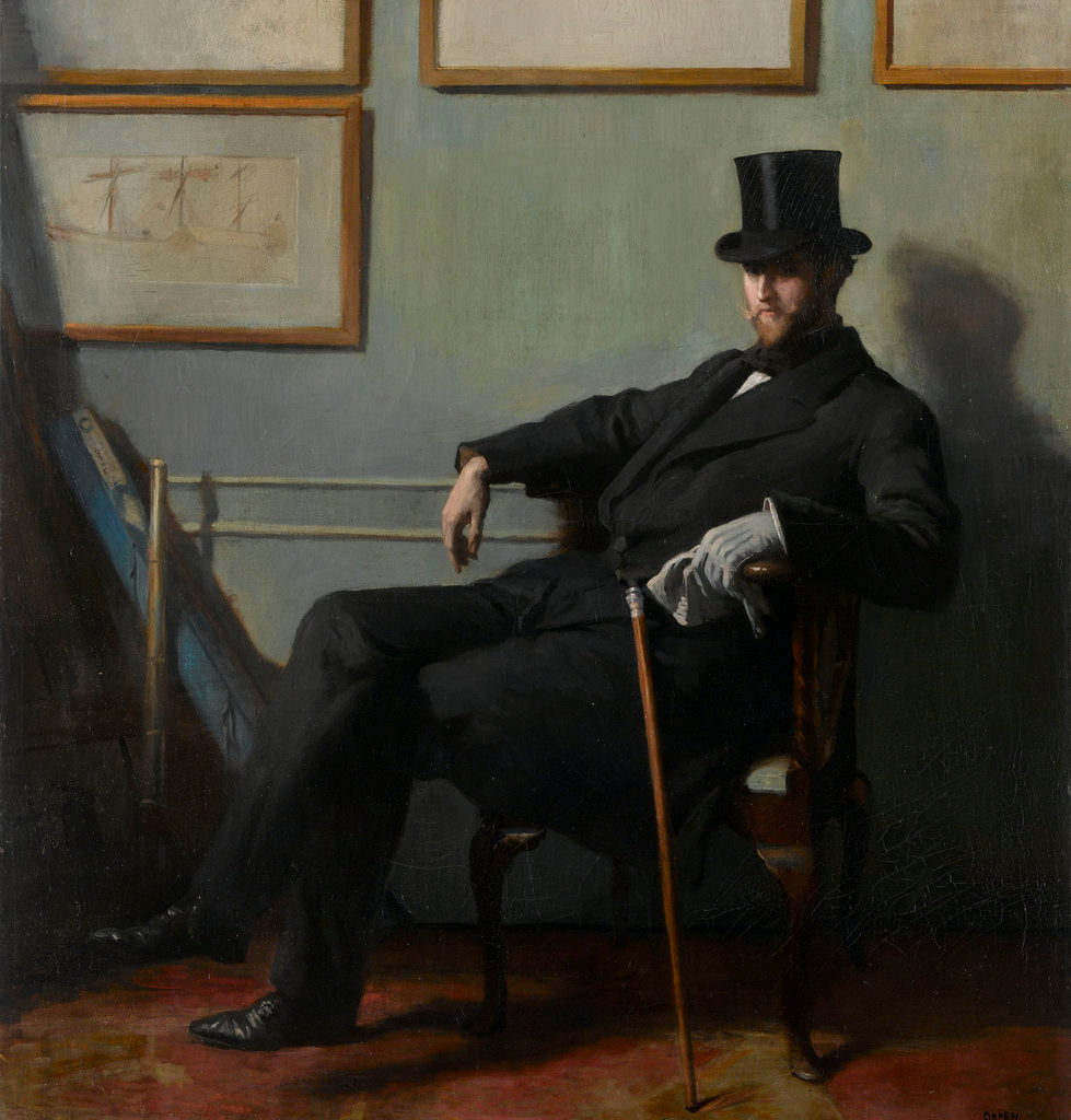 Detail of Herbert Barnard John Everett (1877-1949) by William Orpen