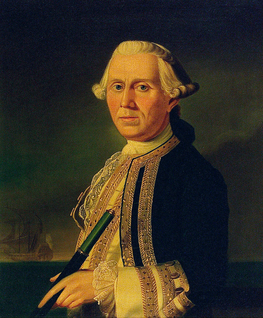 Detail of Captain James Ferguson (1723-1793) by British School
