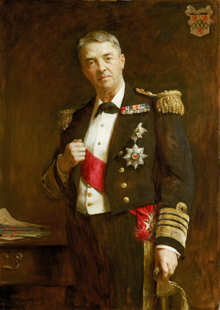 Detail of Admiral Sir John Fisher (1841-1920) by Arthur Stockdale Cope