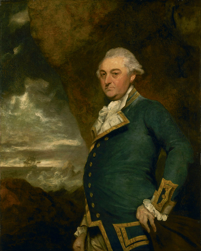 Detail of Captain John Gell (1740-1805) by Joshua Reynolds