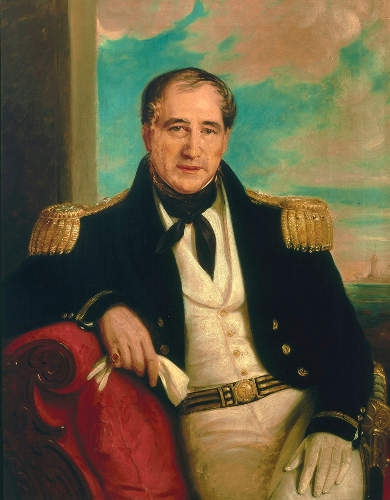 Detail of Captain John Croft Hawkins (1798-1851) by British School