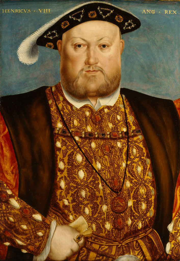 Detail of Henry VIII (1491-1547) by unknown